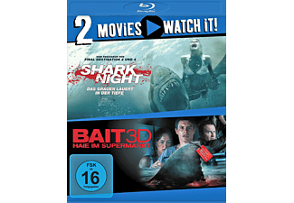 Shark Night / Bait - Haie im Supermarkt - (Blu-ray)