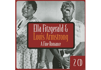 Ella Fitzgerald, Louis Armstrong - A Fine Romance - (CD)