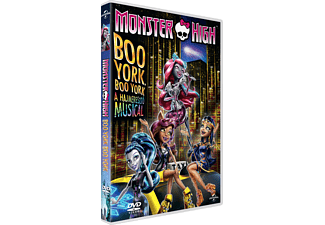 Monster High - Boo York, Boo York - A hajmeresztő Musical (DVD)