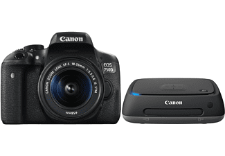 CANON Reflexcamera EOS 750D + 18-55mm + Connect Station CS100 (0592C065AA)