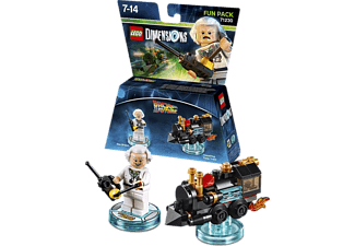 LEGO DIMENSIONS LEGO Dimensions Fun Pack - Back to the Future Doc Brown Spielfiguren