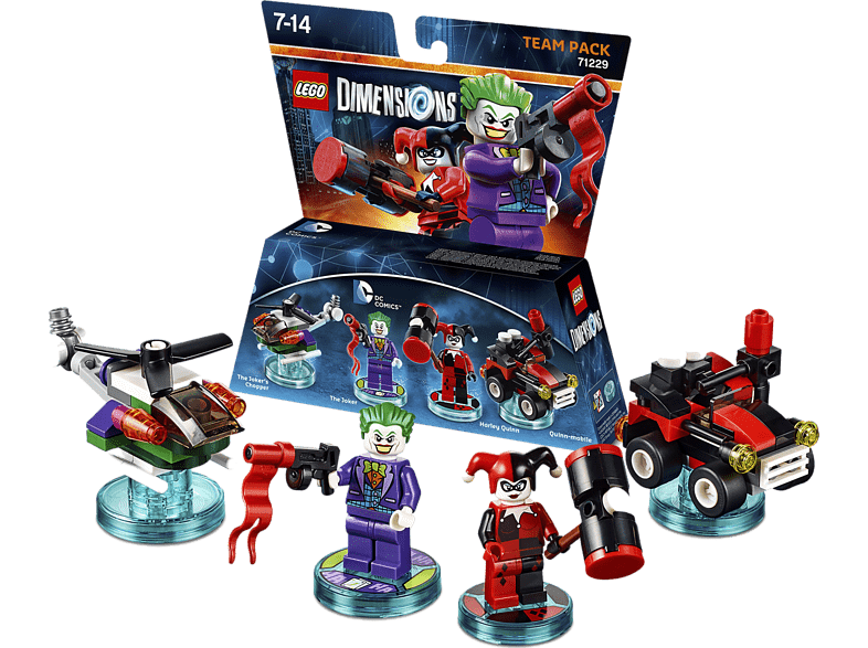 LEGO Dimensions Team Pack - DC Comics Joker & Harley