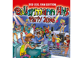 VARIOUS - Ballermann Hits Party 2016 - (CD)