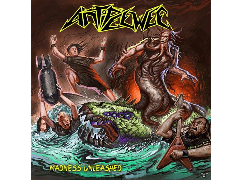 Antipeewee - MADNESS UNLEASHED (+DOWNLOAD) [LP + Download]