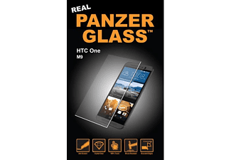 PANZERGLASS 1076 Standard, Display Schutzglas, Transparent, passend für HTC One M9
