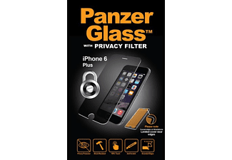 PANZERGLASS 1604, Schutzglas, Transparent, passend für Apple iPhone 6 Plus, iPhone 6s Plus