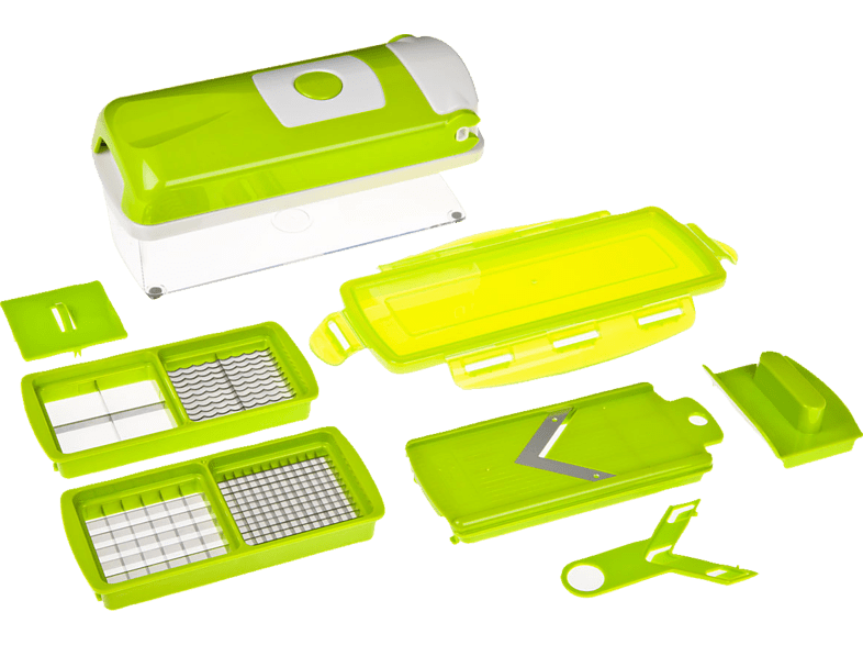 GENIUS 33594 Nicer Dicer Plus Kompakt 7-tlg. Hobel-Set