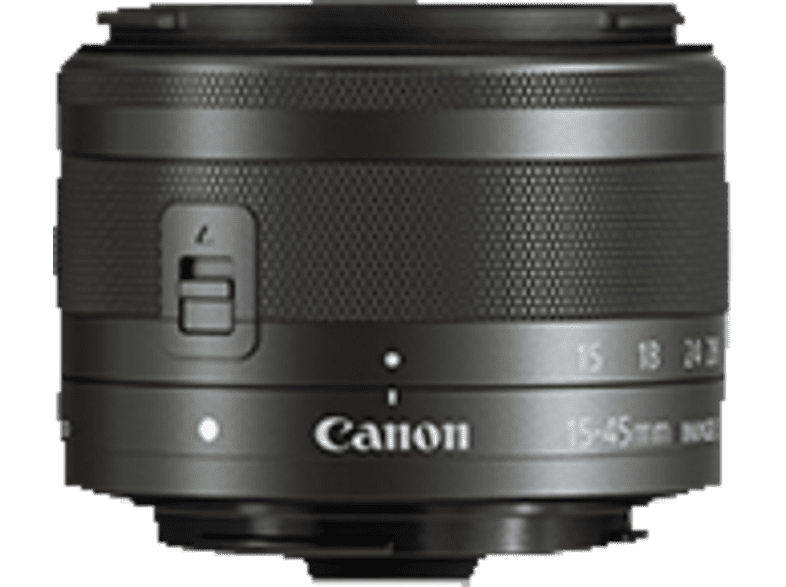 CANON EF 15-45 mm IS STM Weitwinkelzoom für Canon EF-M , 15 mm - 45 mm , f/3.5-6.3