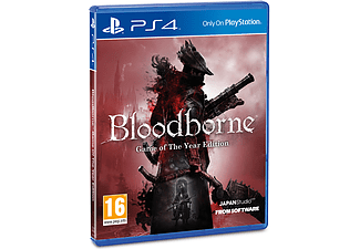 Bloodborne Game Of the Year PlayStation 4