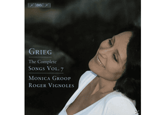 Monica Groop - Grieg: Songs, Vol 7 - (CD)