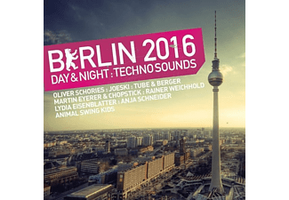VARIOUS - Berlin 2016. Day & Night Techno Sounds - (CD)