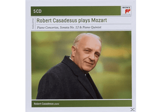 Robert Casadesus - Robert Casadesus Plays Mozart - (CD)