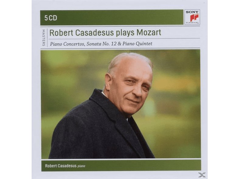 Robert Casadesus - Robert Casadesus Plays Mozart [CD]