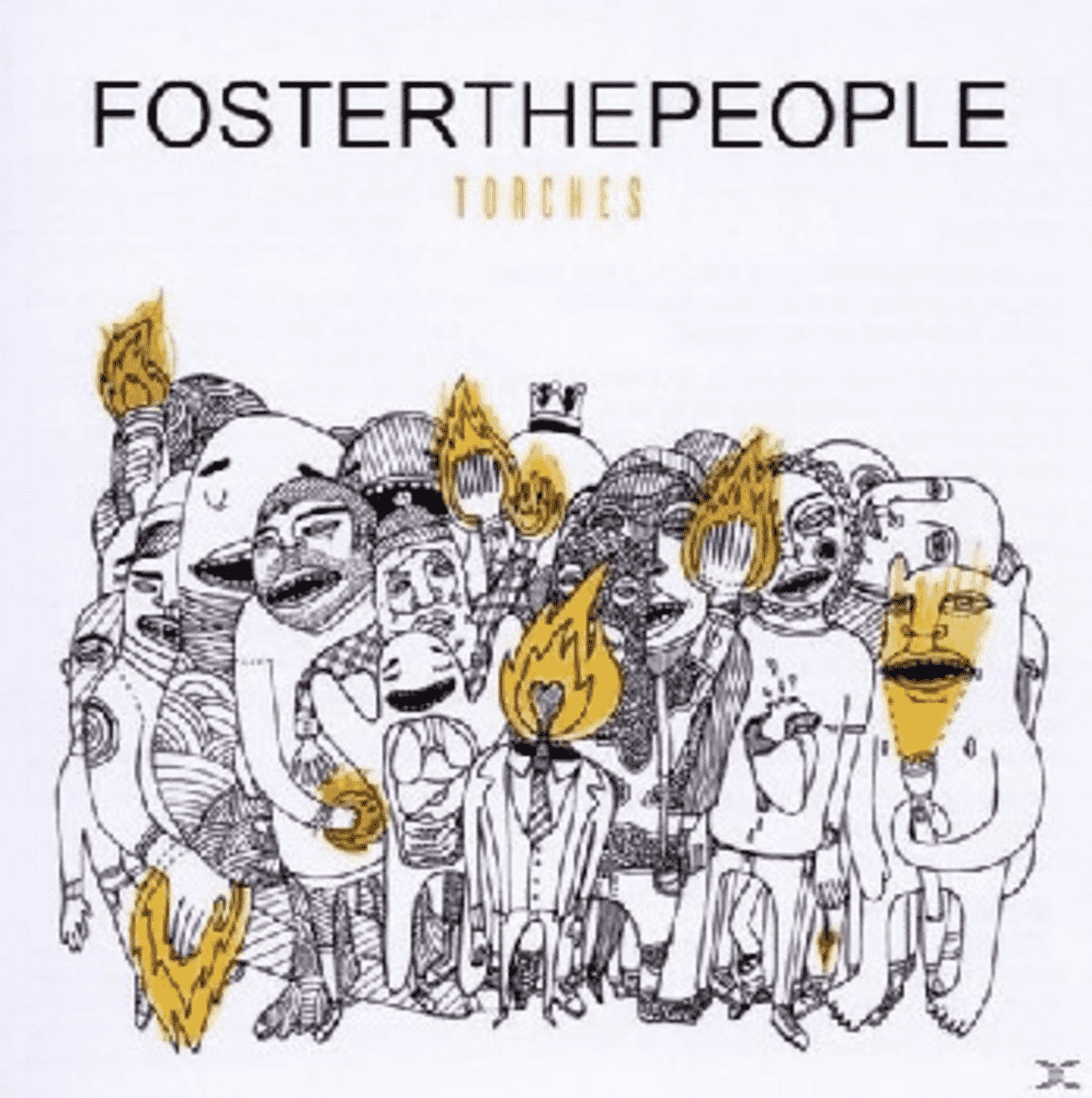 Torches Foster The People auf CD