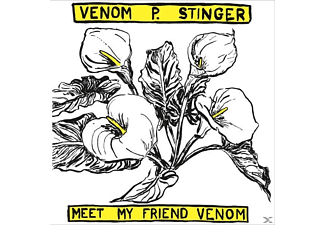 Venom P.Stinger - MEET MY FRIEND VENOM - (Vinyl)
