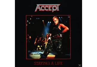 Accept - Staying A Life - (CD)