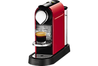 KRUPS XN7205 Nespresso Citiz Kapselmaschine, Fire-Engine Red
