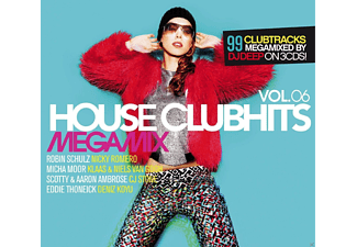VARIOUS - House Clubhits Megamix Vol.6 - (CD)