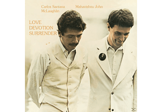 Carlos Santana & Mahavishnu John Mclaughlin - Love Devotion Surrender - (CD)