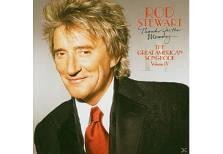 Rod Stewart - THANKS FOR THE MEMORY - THE GREAT AMERICAN SONGB.4 - (CD)