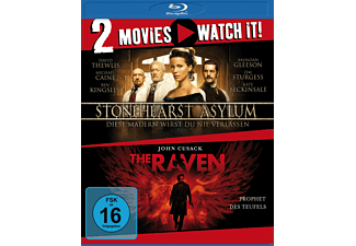 STONEHEARST ASYLUM/THE RAVEN - (Blu-ray)