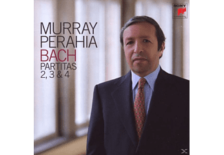 Perahia Murray - Partiten 2, 3 & 4 - (CD)