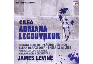 James Levine - Adriana Lecouvreur-Sony Opera House - (CD)