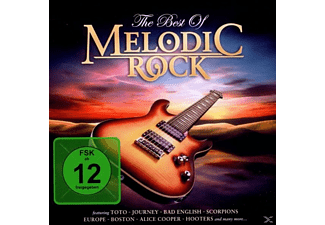 VARIOUS - The best of melodic rock - (CD + DVD-Video-Single)