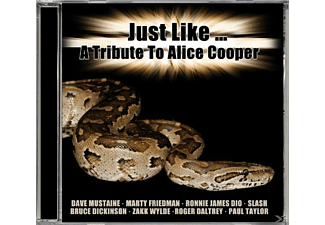 VARIOUS - Just Like-Tribute To Alice Cooper - (CD)