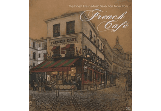 VARIOUS - french cafe - (CD)