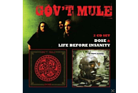 Gov't Mule - Dose / Life Before Insanity [CD]