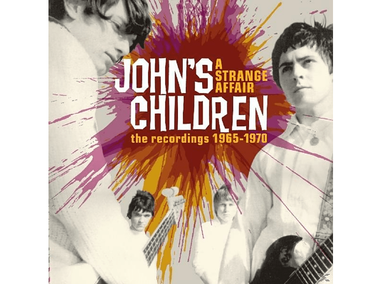 John's Children - A Strange Affair [CD]