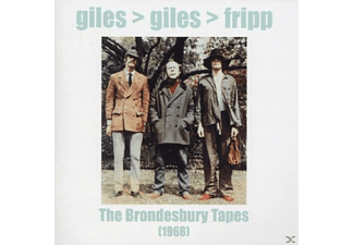 Giles & Fripp Giles - THE BRONDESBURY TAPES (1968) [CD]