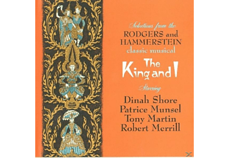 Patrice Munsell, Tony Martin, Robert Merrill, Dinah Shore - Rodgers And Hammerstein Classic Musical: The King And I - (CD)