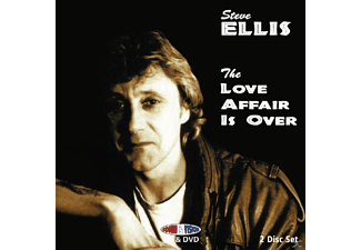 Steve Ellis - LOVE AFFAIR IS OVER + DVD - (DVD)