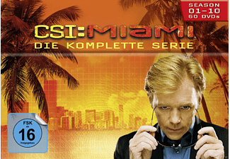 CSI: Miami - Staffel1-10 (Komplettbox) - (DVD)