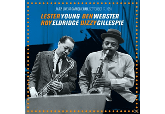 Lester Young, Ben Webster, Roy Eldrige, Dizzy Gillespie - J.A.T.P.Live At Carnegie Hall Sepgember 17, 1955 - (CD)