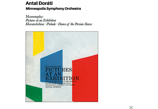 Antal Dorati - Mussorgsky: Pictures At An Exhibition+Bonus - (CD)