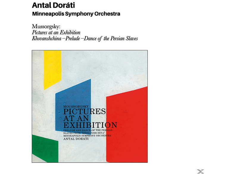 Antal Dorati - Mussorgsky: Pictures At An Exhibition+Bonus [CD]