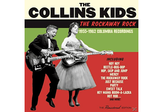 The Collins Kids - The Rockaway Rock 1955-19622 Columbia - (CD)