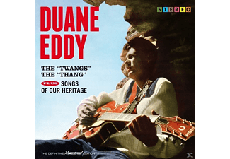Duane Eddy - The Twangs The Thang+Songs Of Our Heritage+7 [CD]