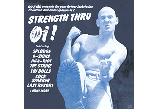 VARIOUS - Strength Thru Oi! (Uk) - (CD)