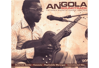 VARIOUS - Angola Soundtrack - (CD)
