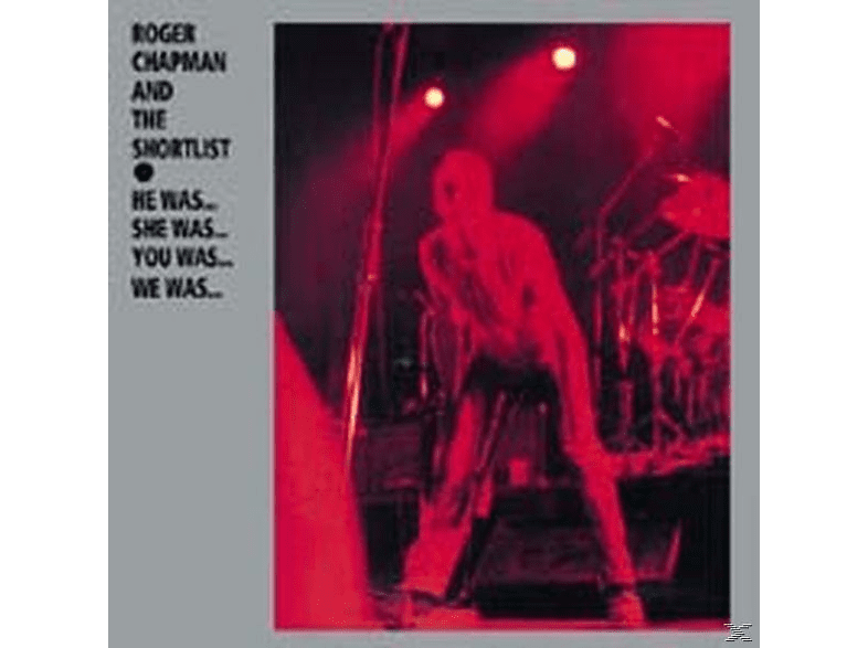 Roger Chapman - He Was...She Was...You Was...We...Was [CD]