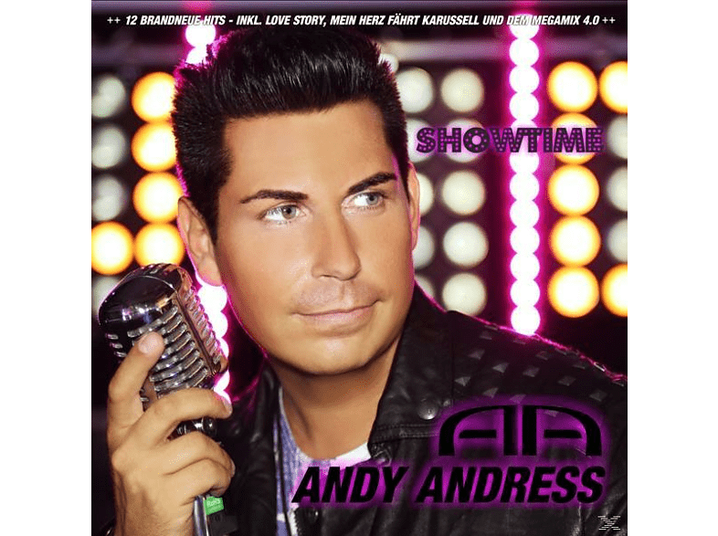 Andy Andress - Showtime [CD]