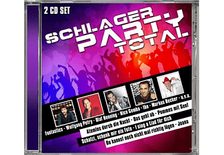 VARIOUS - Schlager Party Total - (CD)