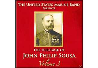 United States Marine Band - Heritage of J.P.Sousa Vol.3 - (CD)