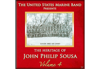 United States Marine Band - Heritage of J.P.Sousa Vol.4 - (CD)