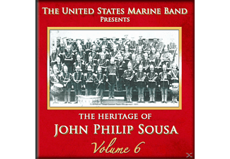 United States Marine Band - Heritage of J.P.Sousa Vol.6 - (CD)