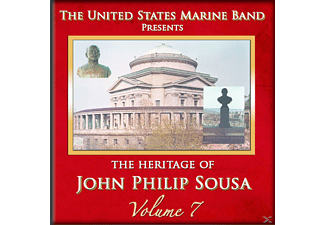 United States Marine Band - Heritage of J.P.Sousa Vol.7 - (CD)